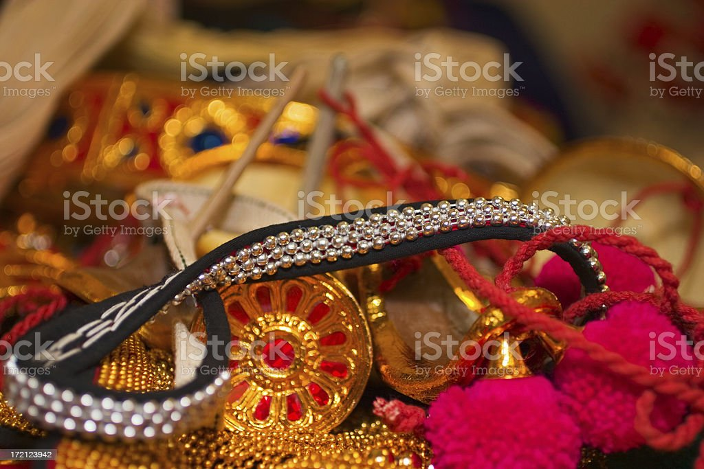 Ornaments stock photo