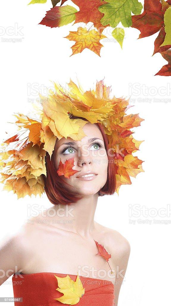 ornat fall royalty-free stock photo