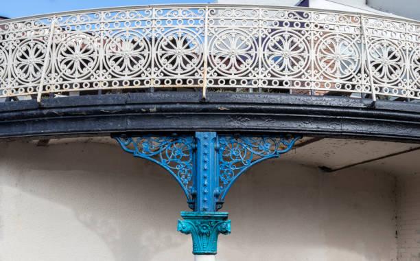 Ornate Balcony stock photo