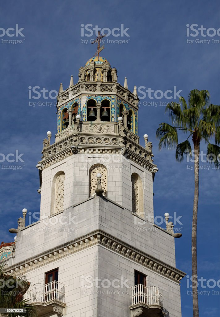 Ornate Bell Tower stock photo