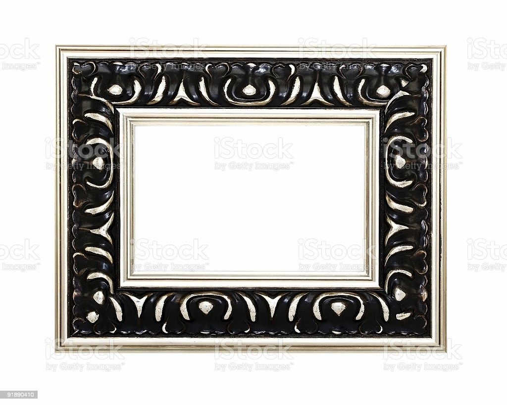 Ornate black and gold frame stock photo istock ornate black and gold frame royalty free stock photo jeuxipadfo Images
