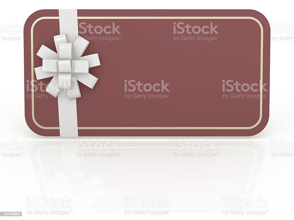 Ornate Card royalty-free stock photo