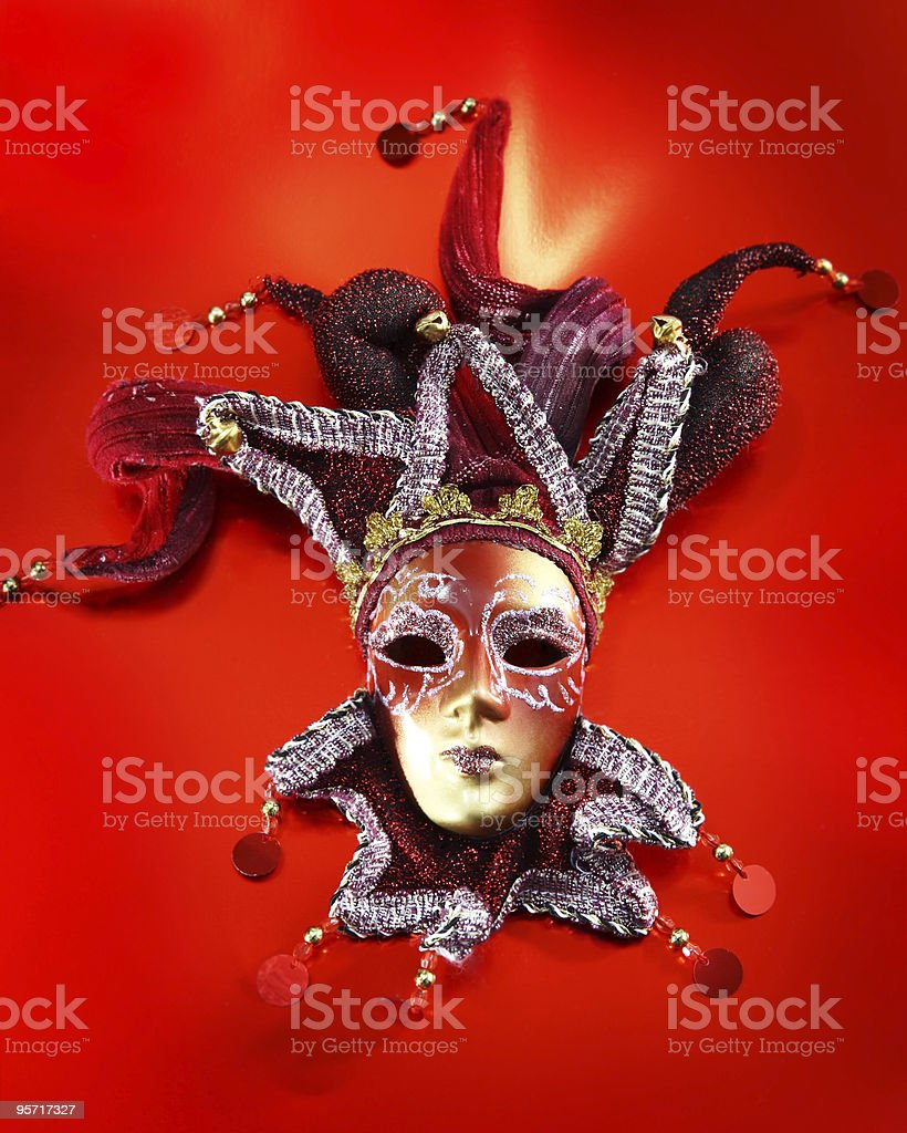 Ornate carnival mask royalty-free stock photo