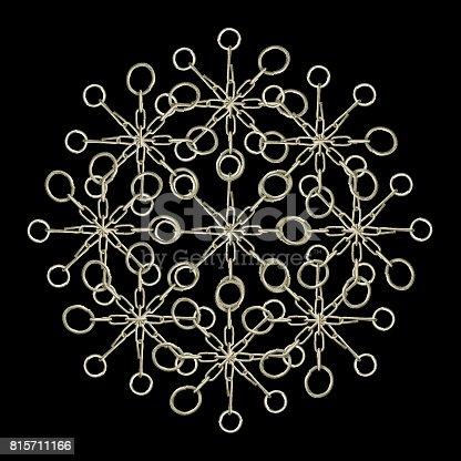 istock Ornate Chained Atrwork 815711166
