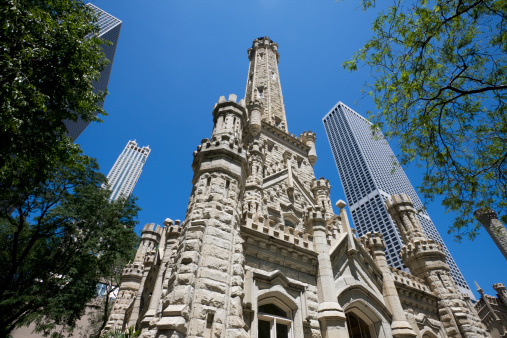 Ornate Chicago Water Tower
