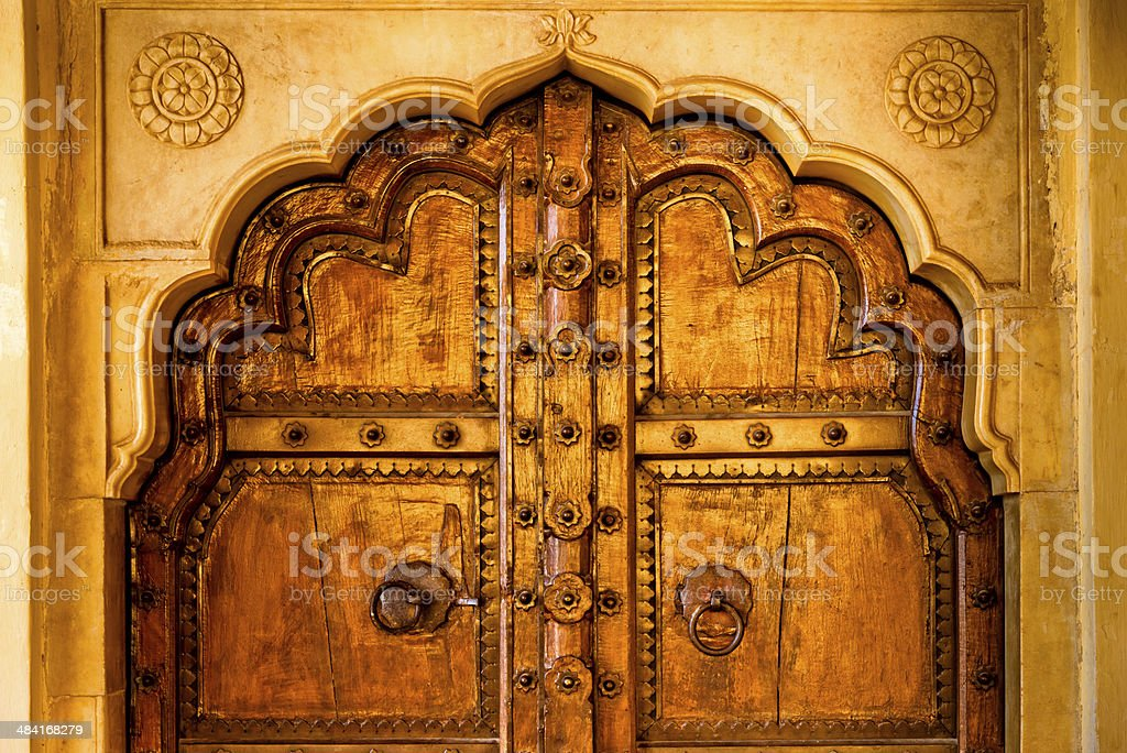 Ornate Door in India stock photo & Royalty Free Palace Door Pictures Images and Stock Photos - iStock