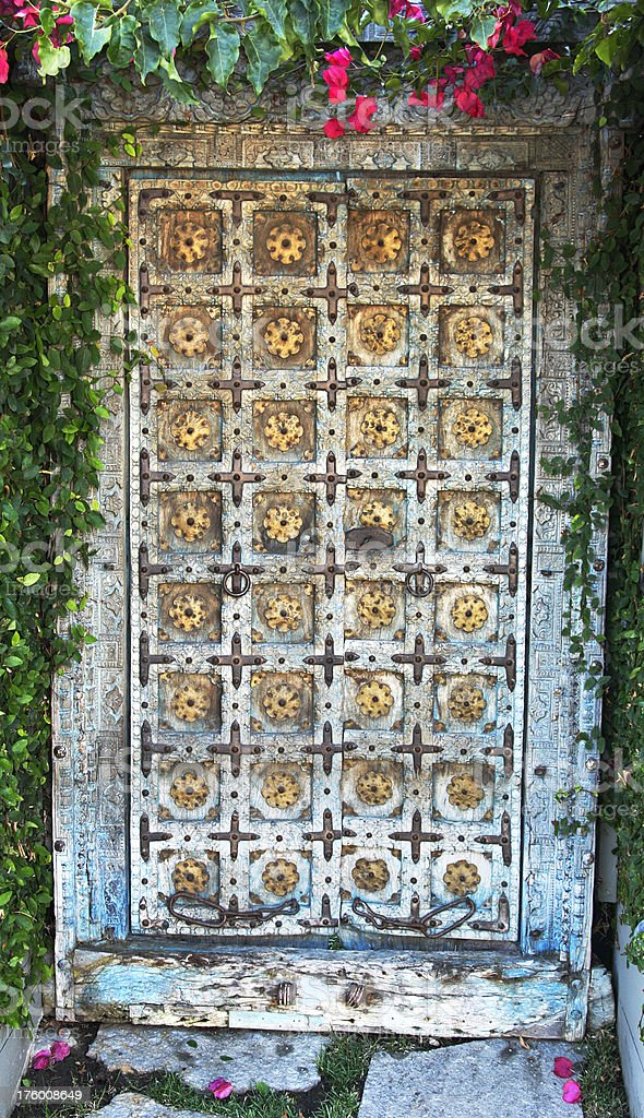Ornate Door royalty-free stock photo