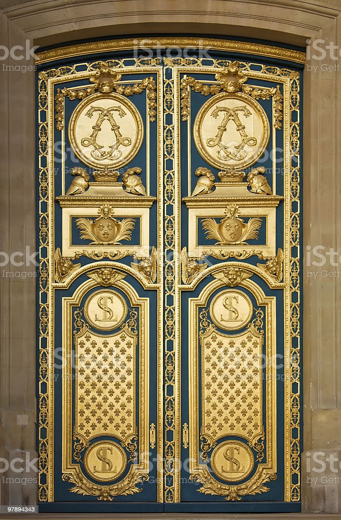Ornate Door royalty-free stock photo