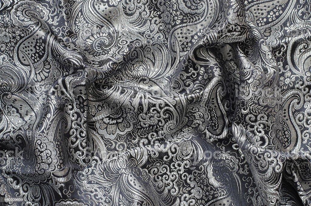 Cortinados, tecidos ornados Brocado - foto de acervo