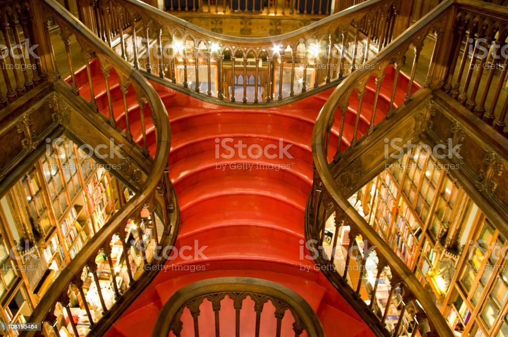 Ornate Grand Staircase royalty-free stock photo