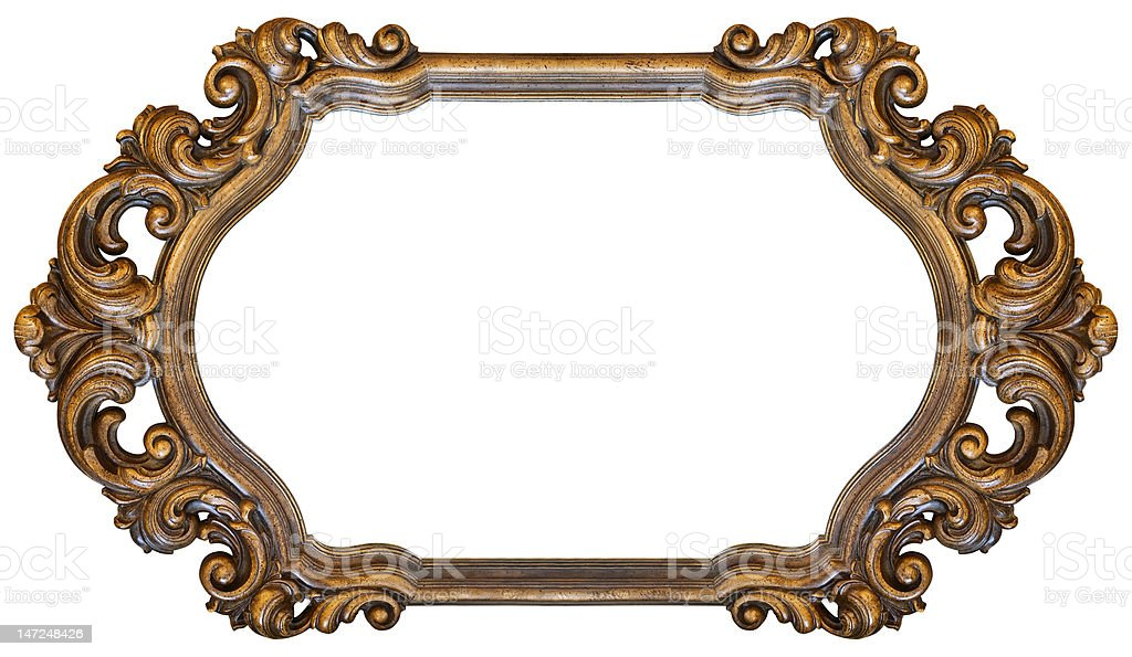 Ornate Horizontal Frame Stock Photo & More Pictures of Antique | iStock