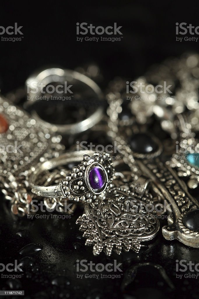 Ornate Jewelry stock photo