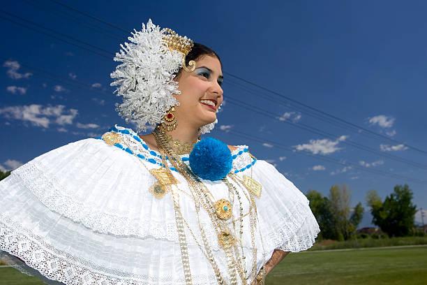 verzierte latino-tänzer - damen rock kostüme stock-fotos und bilder