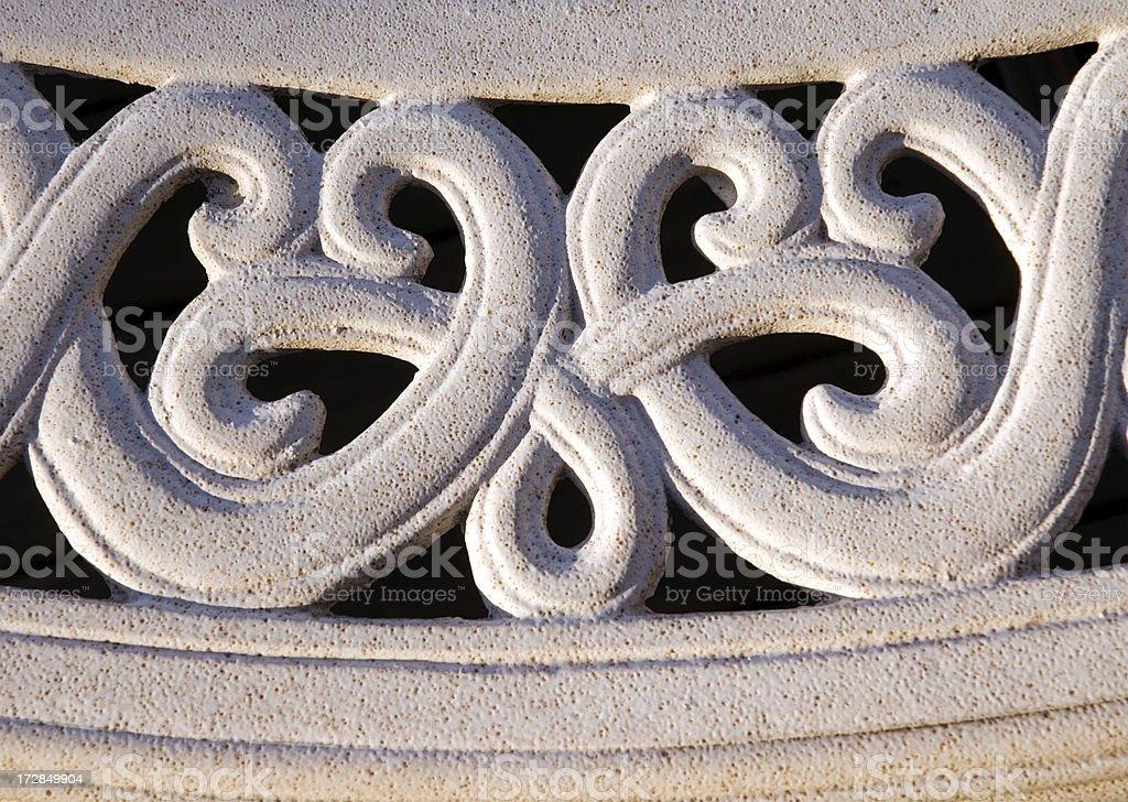 Ornate Metal Detail royalty-free stock photo