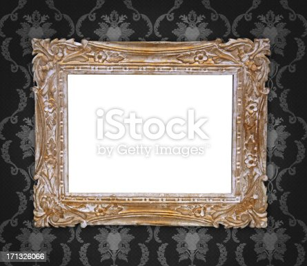 184949856 istock photo Ornate Picture Frame 171326066