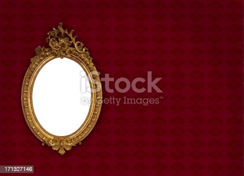 istock Ornate Picture Frame 171327146