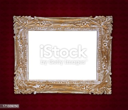184949856 istock photo Ornate Picture Frame 171339250