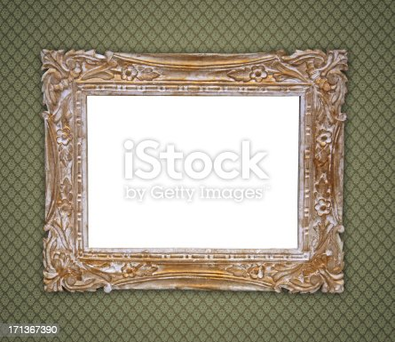 istock Ornate Picture Frame 171367390
