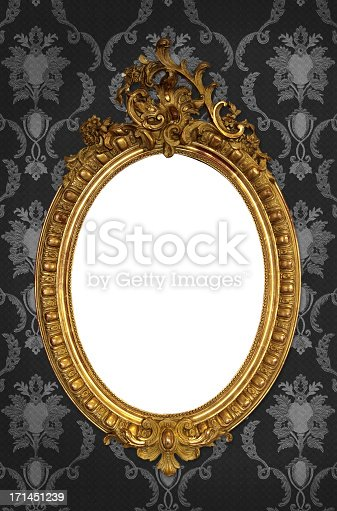istock Ornate Picture Frame 171451239