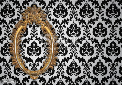 184949856 istock photo Ornate Picture Frame 175225561