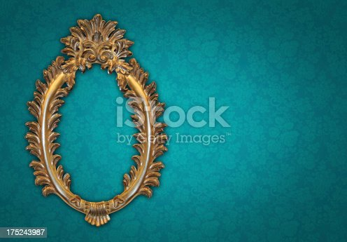 184949856 istock photo Ornate Picture Frame 175243987