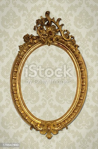 184949856 istock photo Ornate Picture Frame 175542900