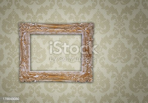 istock Ornate Picture Frame 175543030