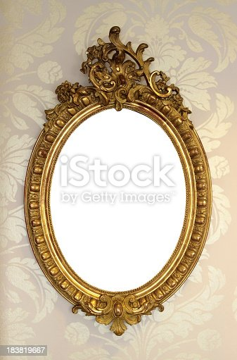 istock Ornate Picture Frame 183819667