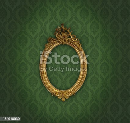 istock Ornate Picture Frame 184910930