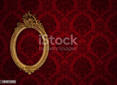 184949856 istock photo Ornate Picture Frame 184912323