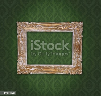 istock Ornate Picture Frame 184914721