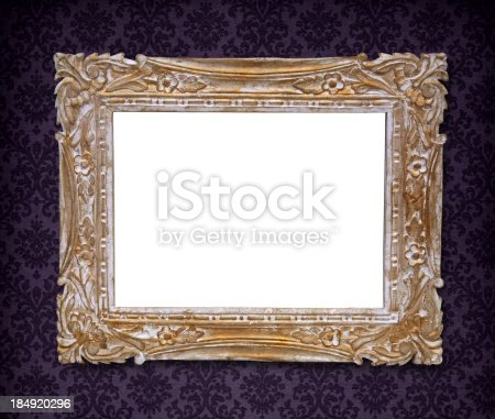 istock Ornate Picture Frame 184920296