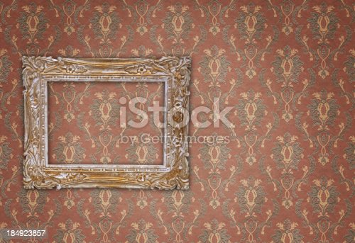 184949856 istock photo Ornate Picture Frame 184923857