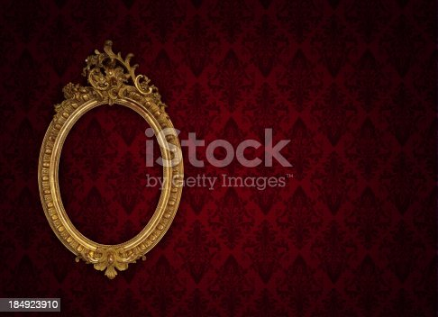 istock Ornate Picture Frame 184923910