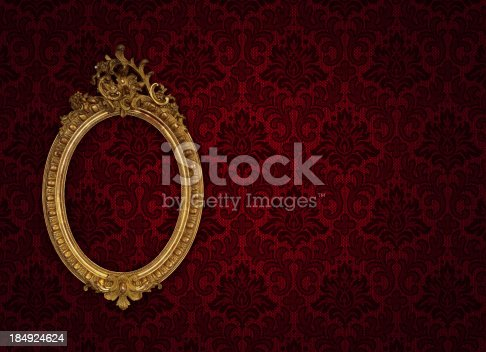 istock Ornate Picture Frame 184924624