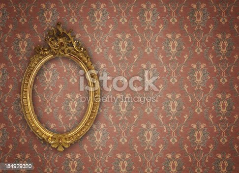 istock Ornate Picture Frame 184929320