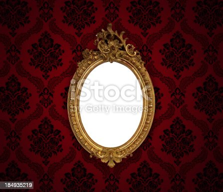 184949856 istock photo Ornate Picture Frame 184935219
