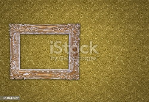 184949856 istock photo Ornate Picture Frame 184939732