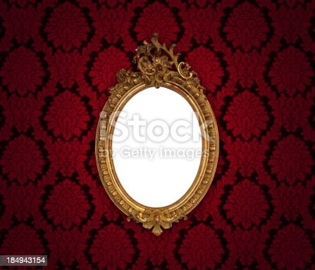 istock Ornate Picture Frame 184943154