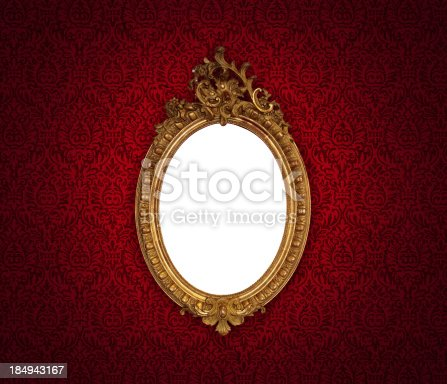 istock Ornate Picture Frame 184943167
