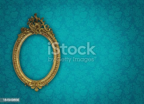istock Ornate Picture Frame 184949856