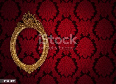 184949856 istock photo Ornate Picture Frame 184961854