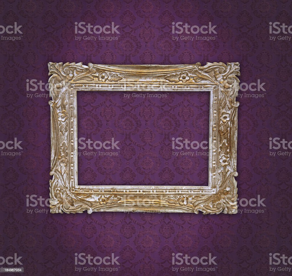 Ornate Picture Frame royalty-free stock photo