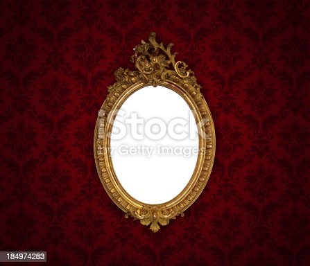 184949856 istock photo Ornate Picture Frame 184974283