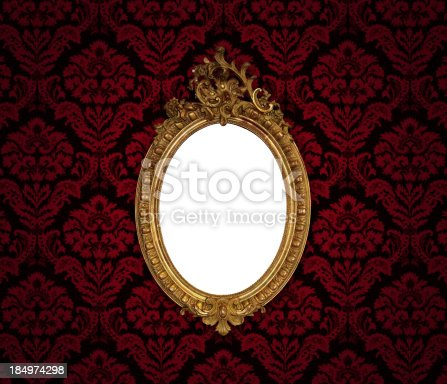 184949856 istock photo Ornate Picture Frame 184974298