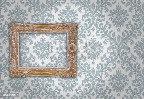 istock Ornate Picture Frame 184985318