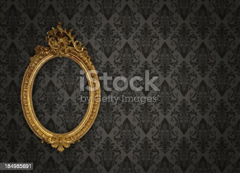 istock Ornate Picture Frame 184985691