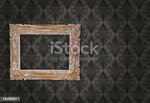 istock Ornate Picture Frame 184992811