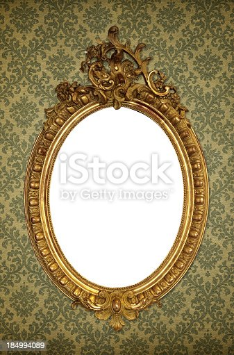 istock Ornate Picture Frame 184994089
