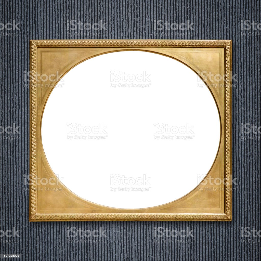 Ornate Picture Frame Stock Photo - Download Image Now - iStock